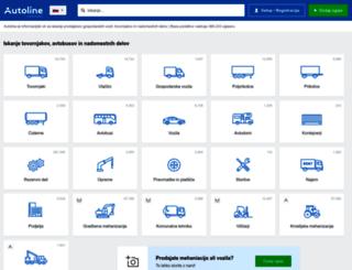 autoline.si screenshot