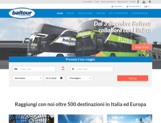 autolinee.baltour.it screenshot