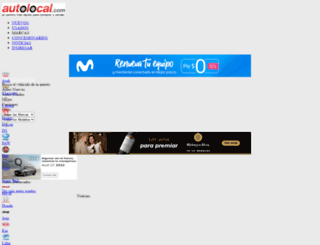 autolocal.cl screenshot