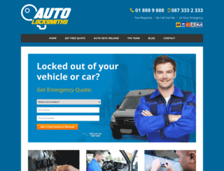 autolocksmiths.ie screenshot