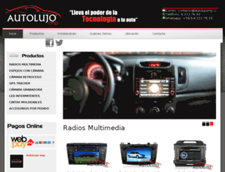autolujoimp.cl screenshot