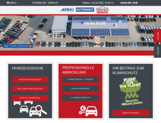 automarkt-im-allgaeu.de screenshot