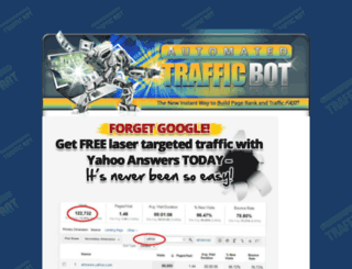 automatedtrafficbot.org screenshot