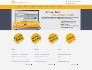 automatemyattendance.com screenshot