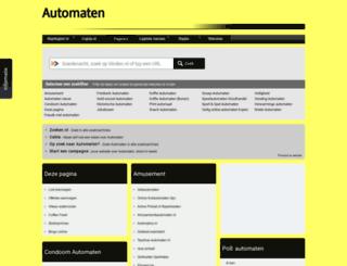 automaten.startkabel.nl screenshot