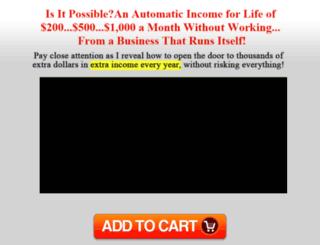 automaticincome4life.com screenshot