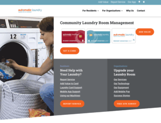 automaticlaundry.com screenshot