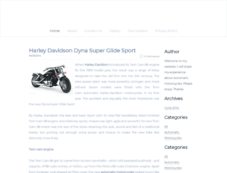 automaticmotorcycles.weebly.com screenshot