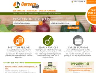 automation.careersinfood.com screenshot