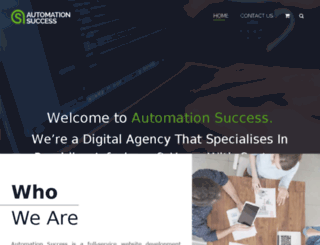 automationsuccess.com screenshot