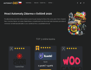 automaty365.com screenshot