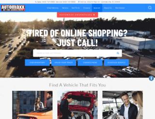 automaxxofsummerville.com screenshot