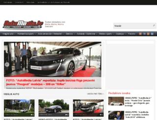 automedia.lv screenshot