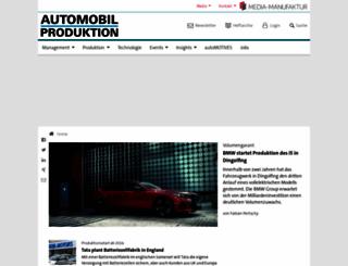 automobil-produktion.de screenshot