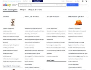 automobile-moto.listings.ebay.fr screenshot