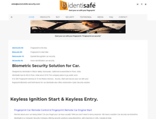 automobile-security.com screenshot