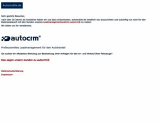 automobile.de screenshot