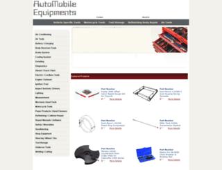 automobileequipments.com screenshot