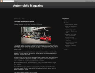 automobilemagazine66.blogspot.com screenshot