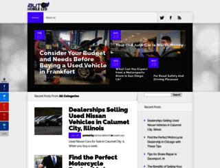 automobilesltd.com screenshot
