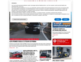 automobilismo.it screenshot