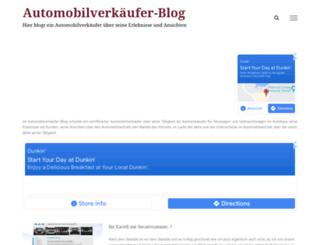 automobilverkaeufer-blog.de screenshot