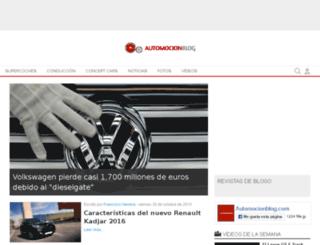 automocionblog.com screenshot