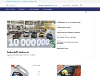 automotive.co.at screenshot