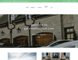 automotivealive.com screenshot