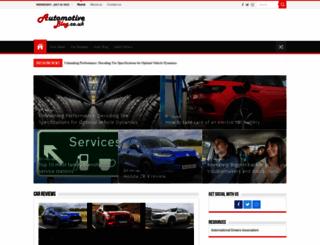 automotiveblog.co.uk screenshot