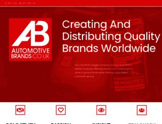 automotivebrands.co.uk screenshot