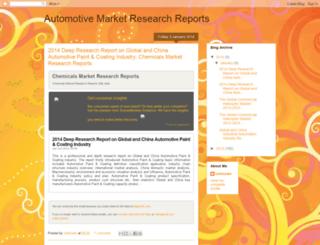 automotiveindustryresearchreports.blogspot.in screenshot