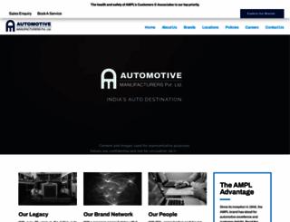 automotiveml.com screenshot