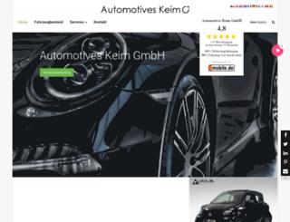 automotives-keim.de screenshot