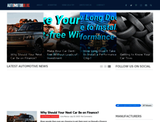 automotorblog.com screenshot