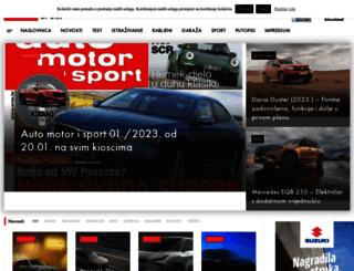 automotorisport.hr screenshot