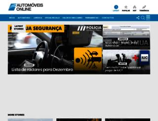 automoveis-online.com screenshot