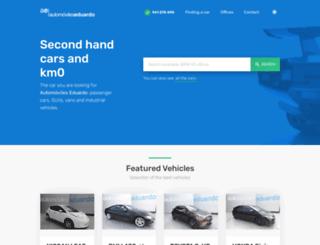 automovileseduardo.com screenshot