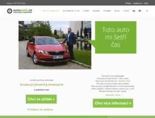 autonapul.org screenshot