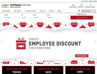 autonationchevroletwestamarillo.com screenshot