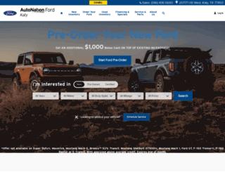 autonationfordkaty.com screenshot