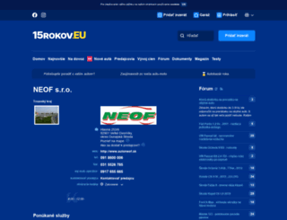 autoneof.autobazar.eu screenshot