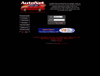 autonet.co.nz screenshot
