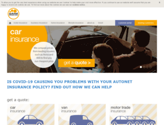 autonetinsurance.co.uk screenshot