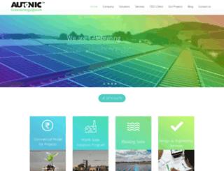 autonic.in screenshot