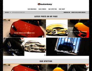autoniusy.pl screenshot