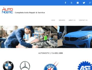 autonostic.com screenshot