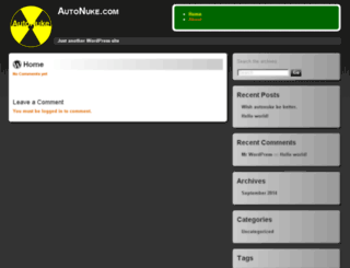 autonuke.com screenshot