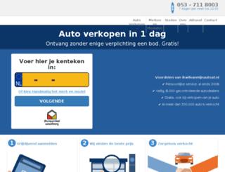autoonlineverkopen.nl screenshot