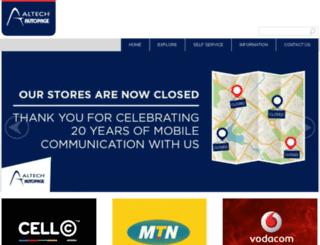 autopage.co.za screenshot
